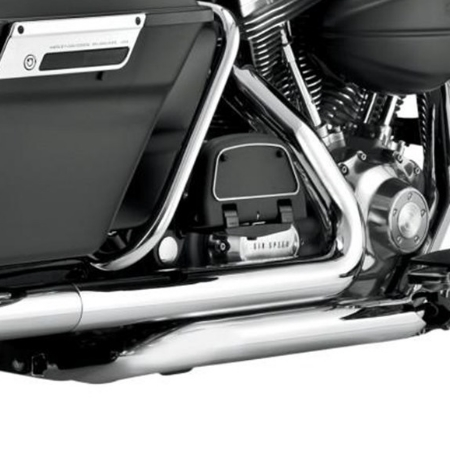 MGS CROSS UNDER HEAD PIPES for 2009-2016 Harley Davidson FLH/FLT Touring  Models