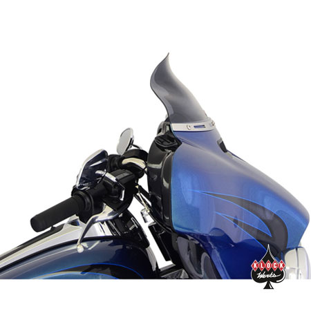 Harley Davidson Windshields >> Klock Werks Dark Smoke 6 5 Flare Windshield For 2014 2018 Harley Davidson Touring Models